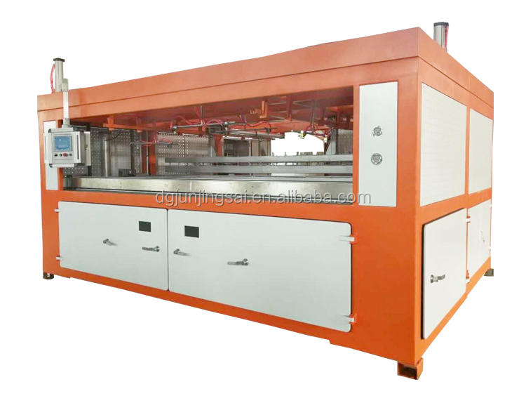 Automatic car plastic bumper making machine
