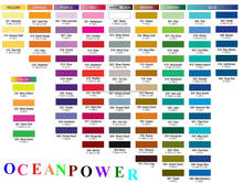 Long lasting paint color chart / fandeck card / colour code shade with exquisite printing tech.