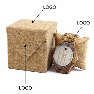 Cheap Cork Wooden Watches Boxes Wood Watch Case