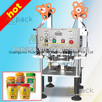 semi automatic plastic used cup filling sealing machine
