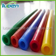 RoHS complied OEM thin wall Silicone rubber sleeve colored tubing