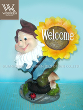 Decorative Polyresin Welcome Board Garden Pond Decorations
