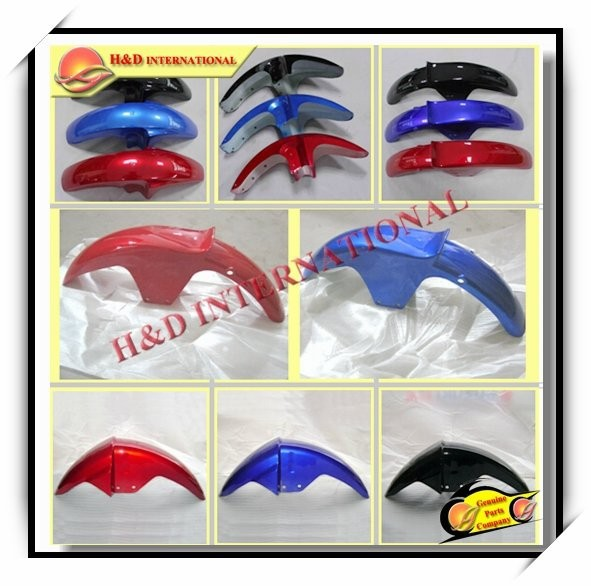 Cheap motorcycle plastic front fender high quality motorcycle parts motorcycle plastic front fender