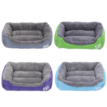 Wholesale Dog Bed Durable Pet Square Bed for Dog and Cat Luxury Indoor Pet Bed