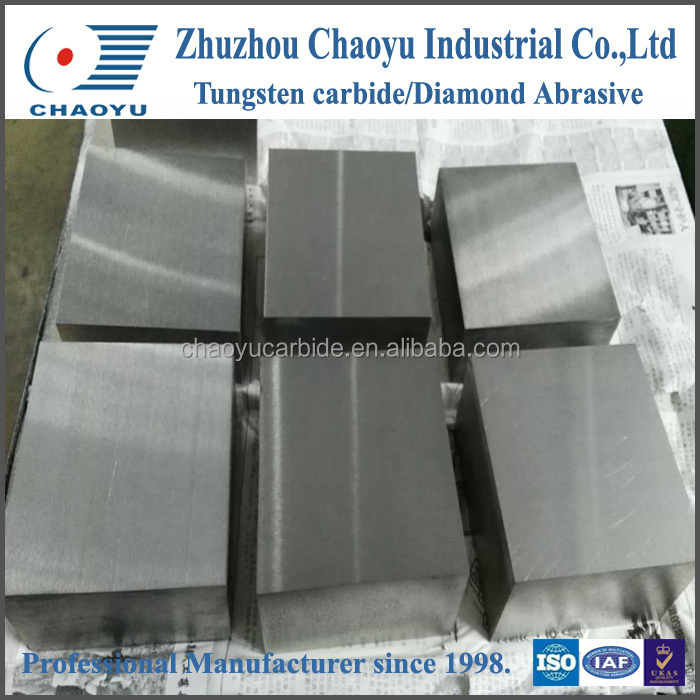 Customized special tungsten carbide platefor wearing parts