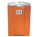 odorless portable assembled latrine dry toilet