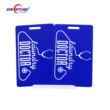 Offset printing PVC Baggage tag membership luggage loyal card