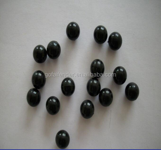 Silicone small black rubber balls 2mm,3mm,6mm,8mm 10mm Cheap custom black rubber balls