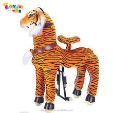 Enjoyment CE indoor kids amusement mechanical jumping horse for shopping mall