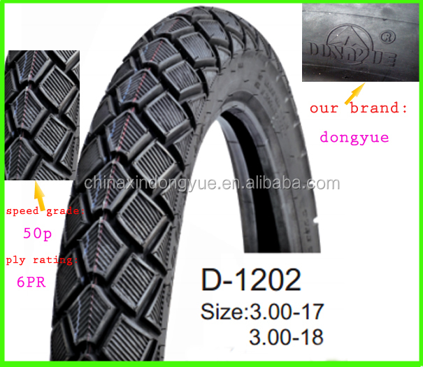 2014 New Pattern Wholesale Motorcycle Tyre 3.00-18