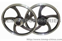 TMMP DELTA50,ALPHA50,ACTIVE110 Motorcycle front and rear wheel rims assy [MT-0449-046B],oem quality