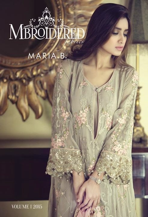 Maria B Embroidered Suits