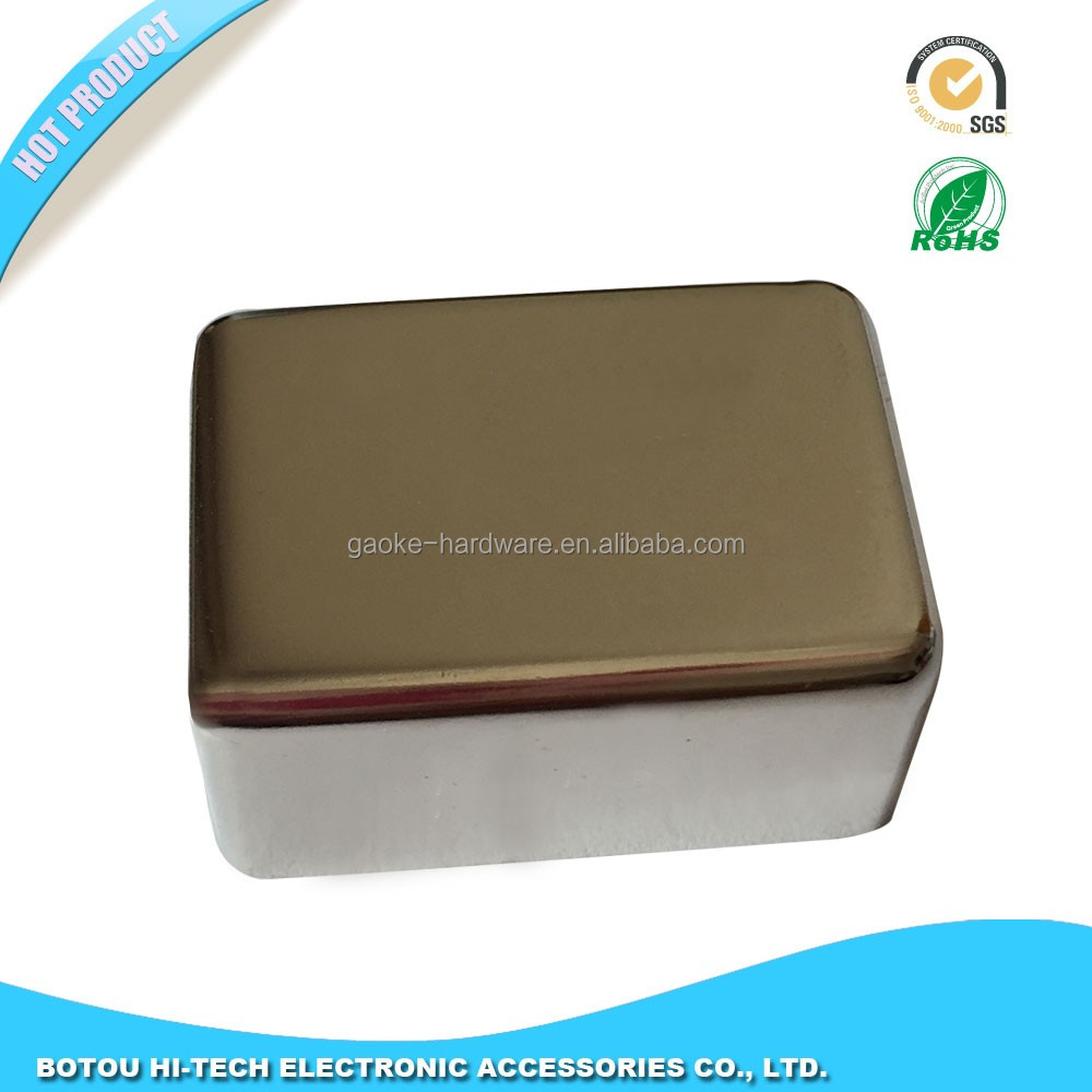 Shielded Room Filters metal case with bulkhead mount