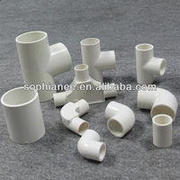 Wholesale 20mm Fire Proof Electrical PVC Pipe Fittings Y