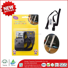 Baby safety strap TV strap with metal clamps for TV