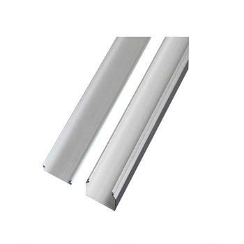 extruded living hinge plastic channel