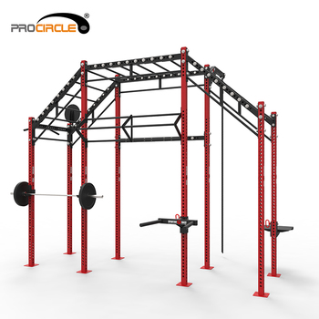 Fitness Equipment Multifunctional Pull Up Station Crossfit Rig
