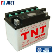 Factory customized 12v 5ah dry cell motorcycle battery