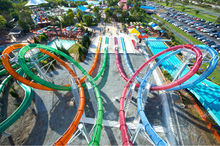 New Arrvail High Speed Water Slide Aqua Loop Manufacturers in China