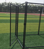 Metal Frame Material welded dog kennels/3mL*3mW*1.8mH Large dog kennels with canopy