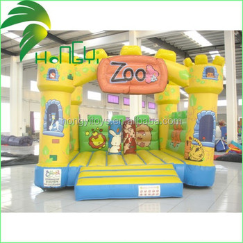 zoo bouncy inflatable trampoline
