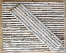 beige slate for wall decoration natural culture stone