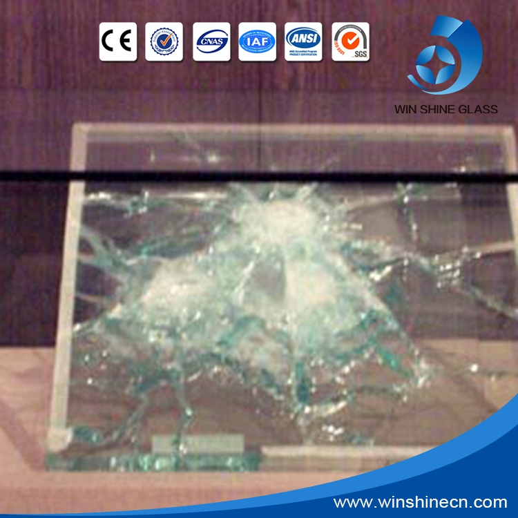 Factory price laminated bulletproof glass for car windshields with CE/ISO/SGS/CCC
