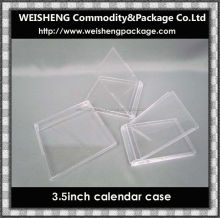 Hot sale new product transparent plastic clear acrylic display box/calendar holder/calendar case