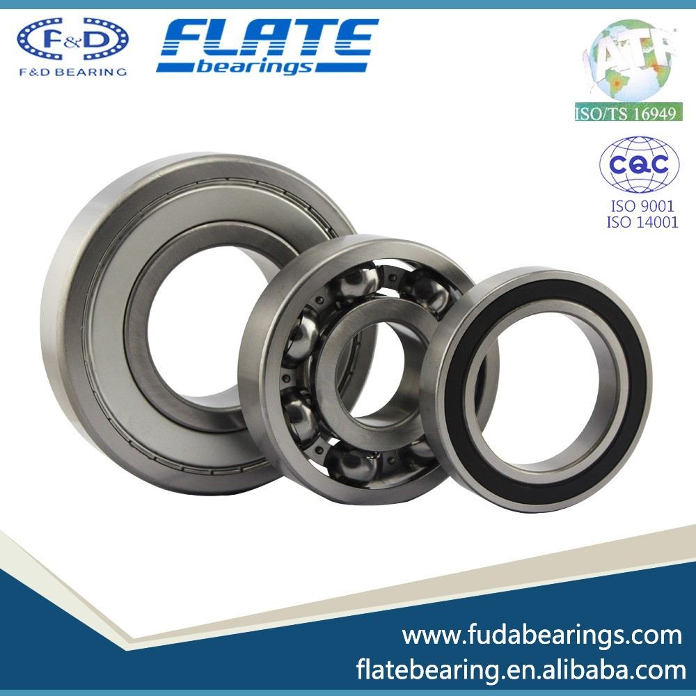 Chrome Steel Low Noise Ball Bearing 6214 Z/ZZ/RS for electronic machine