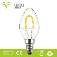 C9 christmas lighting led filament UL decorative bulbs led c9 bulbs