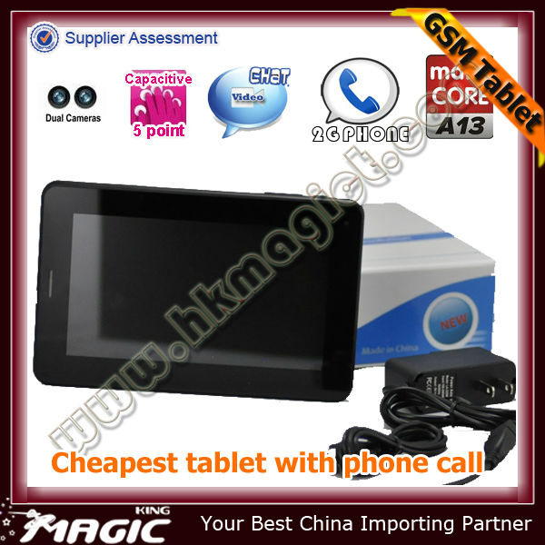 Best price android sex video 2g gsm phone call tablet pc