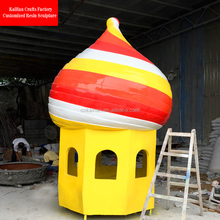 Giant Unlighted Fiberglass Light house for interior christmas decor