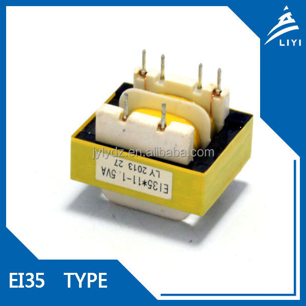 Pin type EI35 Iron 12v 230v 20w electronic transformer