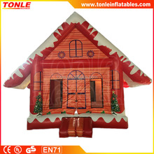 best sale christmas house theme inflatable bouncer/ jumper/ moon bounce house