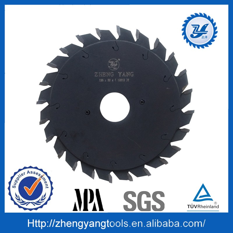 double circular carbide saw blades for cutting wood
