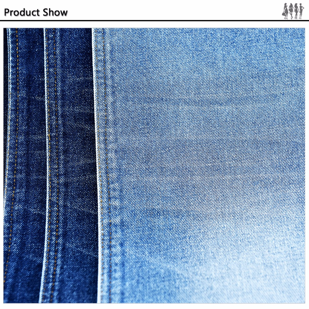 2016 New design fashion style denim fabric for shirting fabric