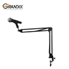 Professional Desktop Articulated Microphone Stand for singing , recording songs and broadcast