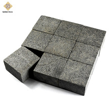 Beautiful flamed cheap patio paver stones on grey color