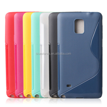 S line tpu case for Samsung note 4,Best price