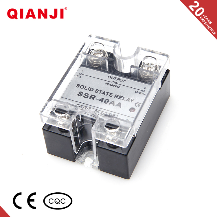 QIANJI Wholesale Online Selling Black 5V 30A Electrical Solid State Relay