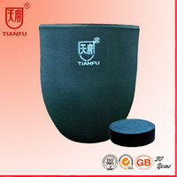 Isostatic Pressing Silicon Carbide Crucible for melting aluminum/copper/zinc ingot