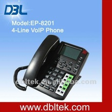 2012 new cell phone/4 lines VoIP phone/ free international call