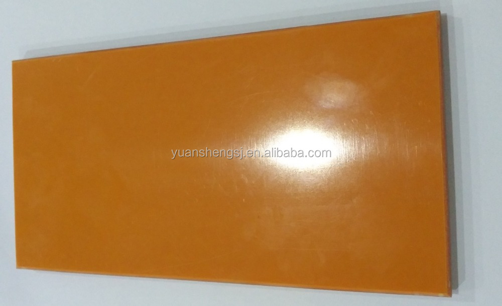 Alibaba best seller of insulation board phenolic laminated sheet/bakelite sheet yellow