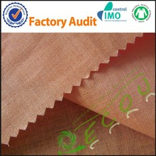 Reactive Dying textile ramie linen fabric for garment