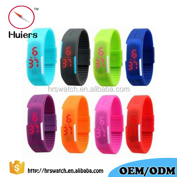 Factory price sport led wrist watches for Man Women Children