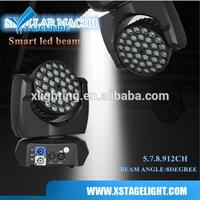 China Mac 101 RGB 36 3w Led Beam Moving Head Light MAC101