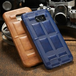 Hot sale mobile accessories smart phone case leather back cover for samsung s7