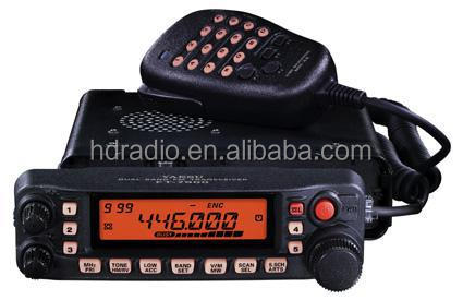 small hf transceiver dual band mobile radio vhf uhf for car
