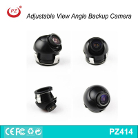 360 degrees rotation waterproof 12V adjustable view angle car rear view reverse camera