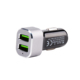 Aluminum 5V 3.4A Mobile Phone Universal Portable Dual USB Car Charger